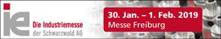 Räumtechnik auf der Industriemesse ie 2019 in Freiburg