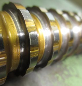Beispiel eines ungeschliffenen Räumwerkzeuges