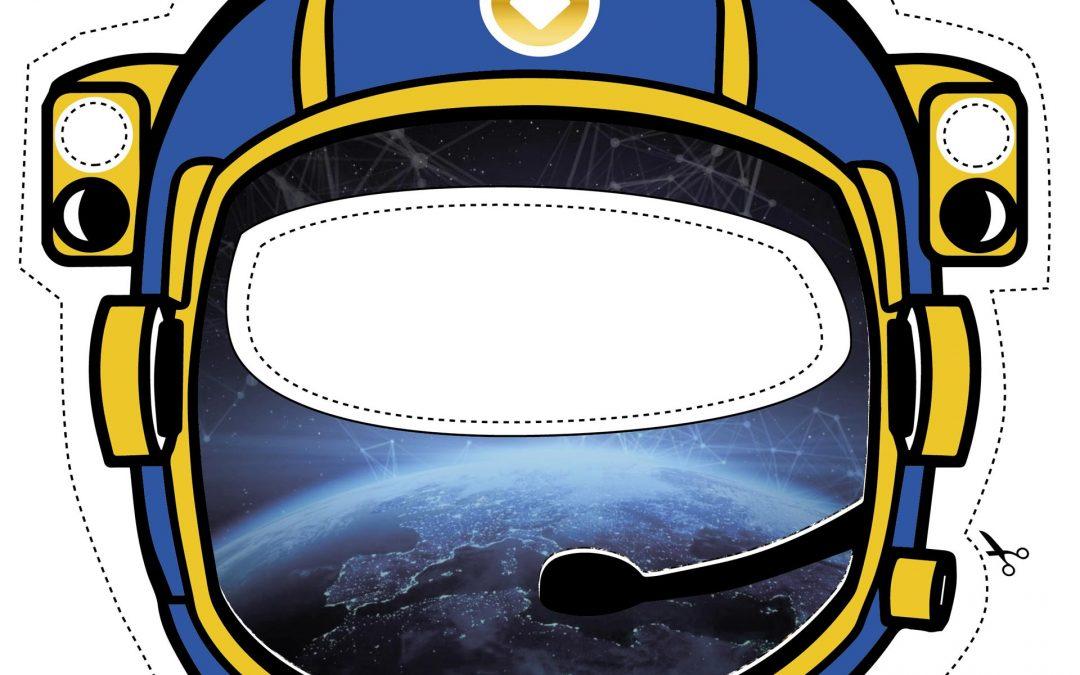 Die Räumonautenmaske – pünktlich zum Fasching